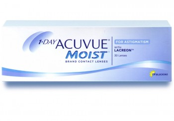 ACUVUE 1 DAY MOIST for ASTIGMATISM US$32