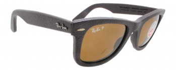 Ray Ban Wayfarer Genuine Leather RB 2140-Q-M 1153/N6