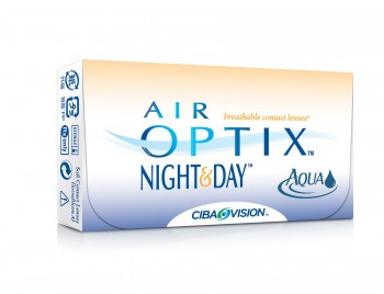 CIBA Vision AIR OPTIX AQUA NIGHT & DAY US$28
