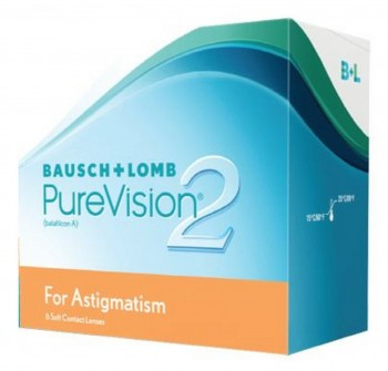 BAUSCH + LOMB PureVision2 HD For Astigmatism US$53