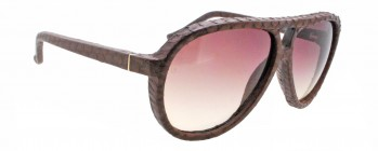 6837a850cf Linda Farrow LUXE CAT NO.2 149 3 Python Sunglasses ...