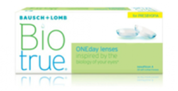 BAUSCH + LOMB Biotrue ONEday lenses For Presbyopia US$30