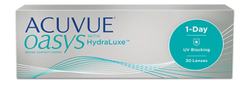 ACUVUE 1 DAY Oasys with HydraLuxe™ US$32