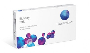CooperVision Biofinity toric US$26