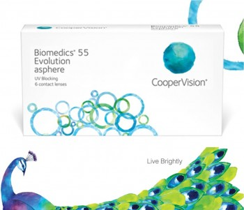 CooperVision Biomedics 55 Evolution US$17