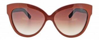 Linda Farrow LUXE CAT NO.2 38/27 Python Sunglasses