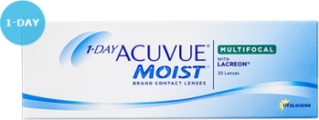 ACUVUE 1 DAY MOIST for MULTIFOCAL US$33