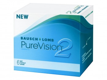 Bausch + Lomb PureVision2 HD US$36