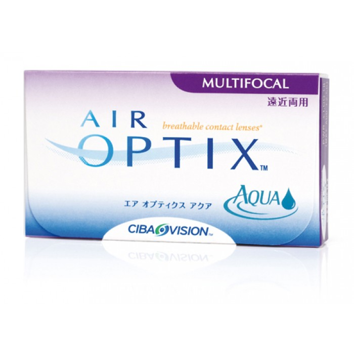 Alcon Air Optix Aqua Multifocal Us 46 Contact Lenses